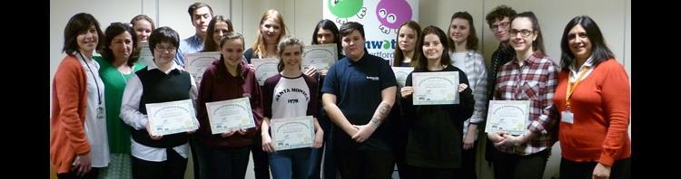 Young people judge Feeling Good Week funding applications