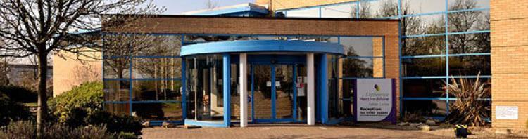 The Fielder Centre entrance